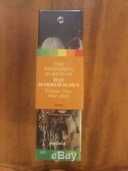 Les Mondes Merveilleux De Ray Harryhausen Volume Two (blu-ray Région Gratuit) Nouveau Poo