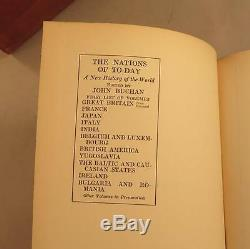 Les Nations D'aujourd'hui Une Nouvelle Histoire Du Monde Éditée Par John Buchan Set