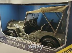Les Soldats Du U. S. Monde Véhicule Militaire Échelle 1/6 Nouveau Toy Box Deluxe
