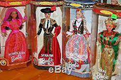 Lot De 10 Poupées Barbie Du Monde / Neuves - Jamais Retirées De La Boîte