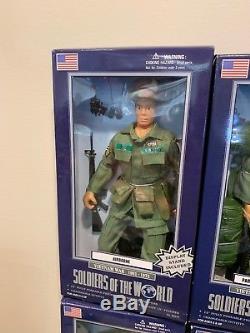 Lot De 12 Soldats Du Monde Guerre Du Vietnam 1961-1975 Neuf 12 Figurines Joe