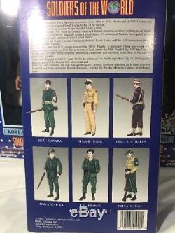 Lot De 13 Soldats Du Monde De La Guerre Civile Coréenne Wwl Tout Neuf Dans Une Boîte Scellée