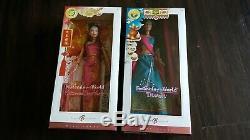 Lot De 2 Fête De La Poupée Barbie Du Monde Diwali Et Nouvel An Chinois