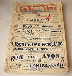 Lot De 26 The London Illustrated News Guerre Mondiale 1 1914-1918