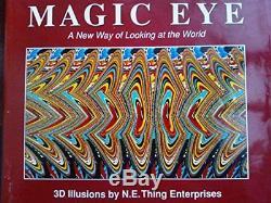 Magic Eye No. 1 Une Nouvelle Façon De Regarder Le Monde Livre Cartonné The Fast Fast