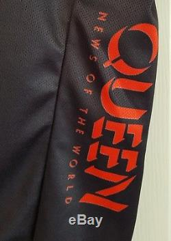 Maillot De Cyclisme Queen News Of The World (cycle Shirt Bicycle Top) Nouveau