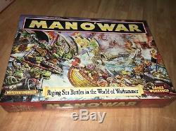 Man O 'war Course De Batailles Navales Dans Le Monde De Warhammer Games Workshop Nuovo New