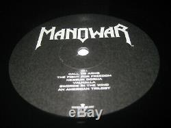 Manowar-warriors Du Lp Mondial, Nuclear Blast Allemagne 2002, Megarar, Newithneu