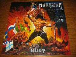 Manowar-warriors Of The World Picture Disc, Nuclear Blast Germany 2002, Ltd, Nouveau