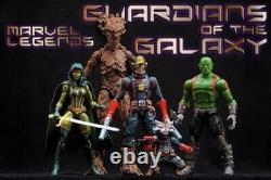 Marvel Legends Guardians Of The Galaxy Entertainment Earth Exc New Shipsworld