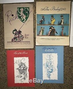 Menu Vintage Lot The Drake Steuben Top Of The Rock Keens New York World Chicago