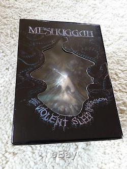 Meshuggah Le Violent Sleep Of Reason Nouveau Box-set 1000 Dans Le Monde Entier Incl. Masque