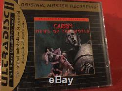Mfsl-udcd 588 Queen Nouvelles Du Monde (mfsl-gold-cd / USA / Usine Scellé)