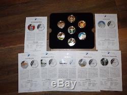 Mongolei 500 Togrog 2008 Weltwunder Silber Les Nouvelles Merveilles Du Monde