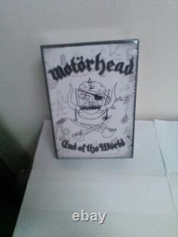 Motorhead End Of The World Cd/dvd Box Set Newithsealed