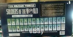 Navires Gratuits Nouveauté 1998 Box Of Soldiers Of The World Seconde Guerre Mondiale Us Jeep # 98393