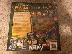 Neu! Croisade Brûlante De World Of Warcraft Brettspiel Le Jeu De Plateau Nouveau! Scellé