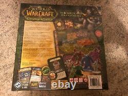 Neu! World Of Warcraft Burning Crusade Brettspiel Le Jeu De Société Nouveau! Scellé