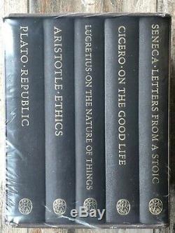 Neufs & Scelles Grande Philosophes De La Société Folio Ancient World 5 Volumes