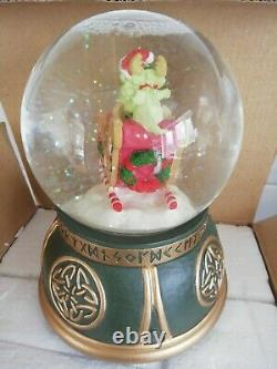 New The Whimsical World Of Pocket Dragons Musical Christmas Snowglobe