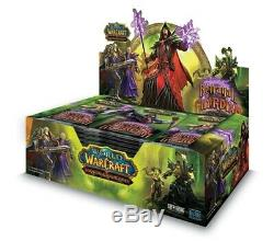 New Trahison Sealed Du Box Booster Gardien Du Monde Warcraft Wow Tcg 36 Packs
