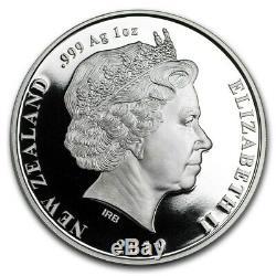 New Zealand- 2019- Silver Proof Coin Set- Maui Et La Déesse Du Feu
