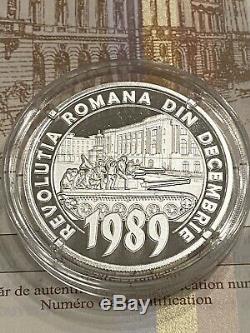 New-bnr Silver Coin 10 Lei 2019 30 Ans De La Révolution Roumaine De 1989