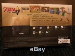 Nintendo 3ds XL Edition Limitée, The Legend Of Zelda Un Lien Entre Les Mondes, Nouveau