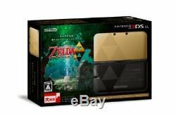 Nintendo 3ds XL La Légende De Zelda Un Lien Entre Les Mondes Edition Limitée New K