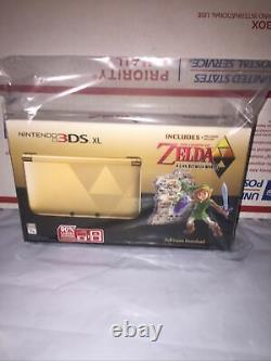 Nintendo 3ds XL La Légende De Zelda Un Lien Entre Les Mondes Scellés Nouveau Dans La Boîte