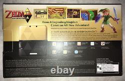 Nintendo 3ds XL The Legend Of Zelda A Link Between Worlds Edition Flambant Neuf