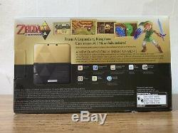 Nintendo 3ds XL The Legend Of Zelda Un Lien Entre Le Système Worlds (limited) Nouveau