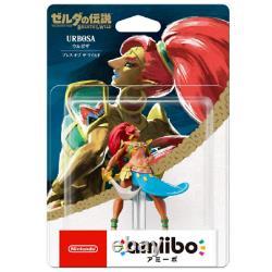 Nintendo Amiibo Urbosa (breath Of The World) Japon Importation Nouveau