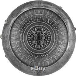 Niue La Reine Des Monnaies Sept Nouvelles Merveilles Du Monde Pièce D'argent