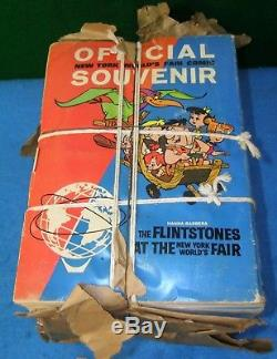 Nos Bundle De 50 1964 Les Flintstones Au Salon Du Monde De New York