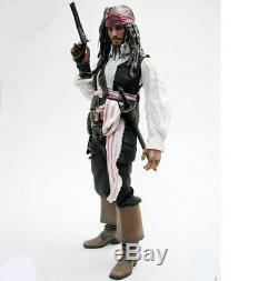 Nouveau 1/6 Pirates Des Caraïbes À La Fin Du Monde Jack Sparrow Hot Toys