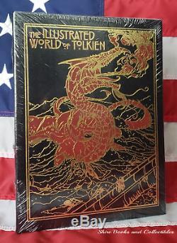 Nouveau Etanche D Day Illustrées Monde De Tolkien Easton Press Relié En Cuir