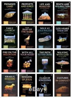 Nouveau Faith Lessons Set Of 16 DVD Que Le Monde Puisse Savoir Ray Vander Laan Vol 1-16