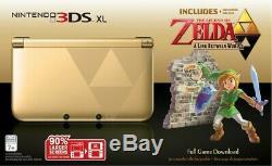 Nouveau! Nintendo 3ds XL Edition Limitée The Legend Of Zelda A Lien Entre Les Mondes