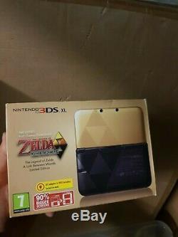 Nouveau Nintendo 3ds XL La Légende De Zelda Lien Entre Les Mondes Édition Limitée Pal