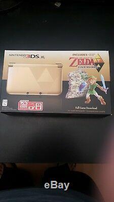 Nouveau! Nintendo 3ds XL Limited Edition La Légende De Zelda Un Lien Entre Le Monde