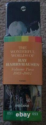 Nouveau! Oop The Wonderful Worlds Of Ray Harryhausen Ltd Ed Volume Two 2 Blu-ray Set
