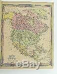 Nouvel Atlas Universel Du Monde Etats-unis, 117 Cartes 1852