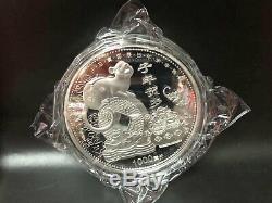 Nouvelle Médaille De Zodiaque Chinois 2020 En Or 24 Carats Plaquée Argent, Année Du Rat