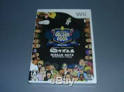 Nouvelle Nintendo Wii Le Monde De Golden Eggs Import Japonais Ntsc-j F / S Nissan Rare