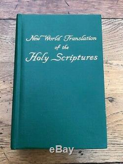 Nouvelle Traduction Mondiale Des Écritures Saintes 1963 (3646 Pages)