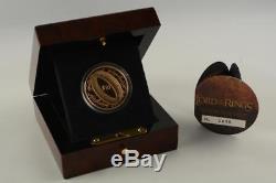 Nouvelle-zélande 2003 Pièce De 10 $ En Or Belle Épreuve Le Seigneur Des Anneaux