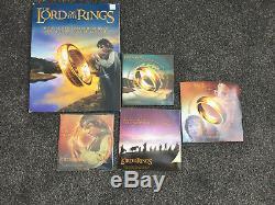 Nouvelle-zélande 2003 - Série De Monnaies Seigneur Des Anneaux! Rare