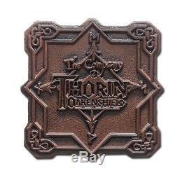 Nouvelle-zélande 2013 Silver Proof 5 Coin Set The Hobbit La Désolation De Sma