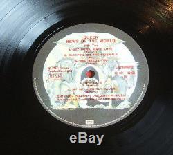 Nouvelles De La Reine Du Monde Original 1977 Italien Pressage Vinyle Lp 3c 064 60033